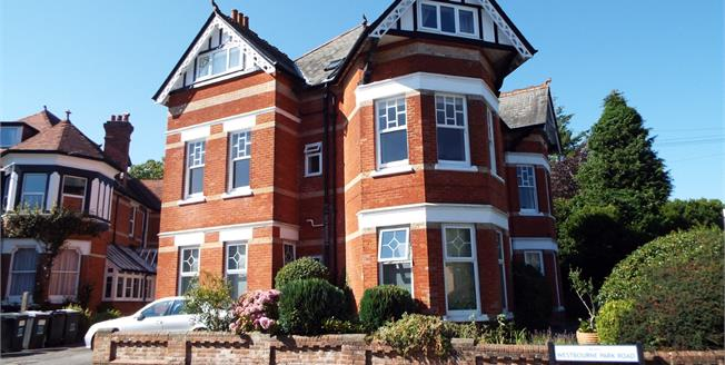 Guide Price £160,000, 1 Bedroom Flat For Sale in Bournemouth, BH4