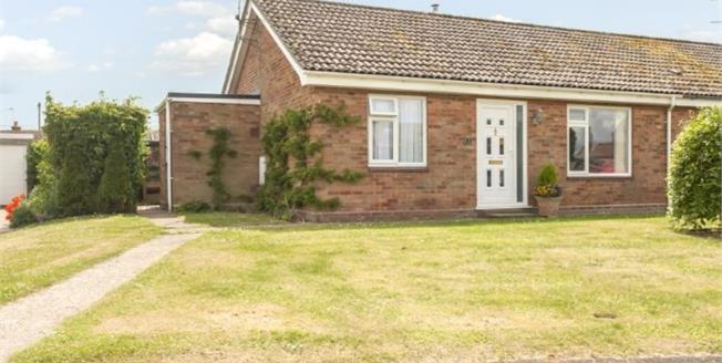 Asking Price £160,000, 2 Bedroom Semi Detached Bungalow For Sale in Docking, PE31
