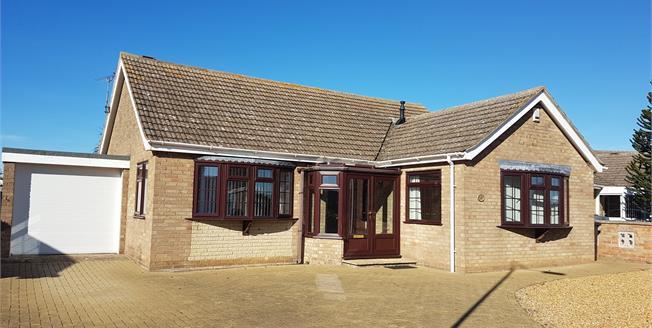 Asking Price £330,000, 2 Bedroom Detached Bungalow For Sale in Hunstanton, PE36