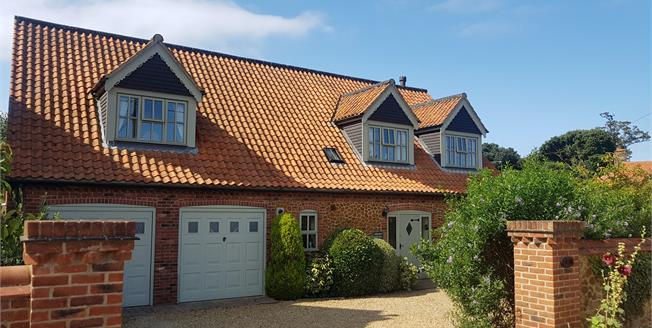 Asking Price £495,000, 4 Bedroom Detached House For Sale in Hunstanton, PE36