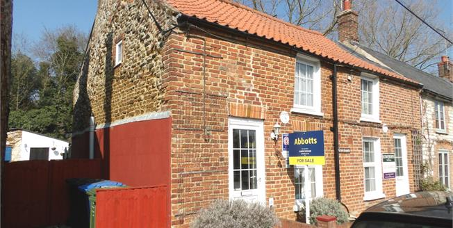 Offers in the region of £215,000, 2 Bedroom End of Terrace Cottage For Sale in Sedgeford, PE36
