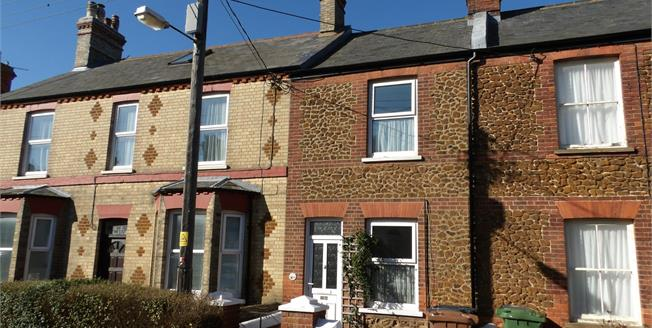 Guide Price £215,000, 2 Bedroom Terraced Cottage For Sale in Hunstanton, PE36