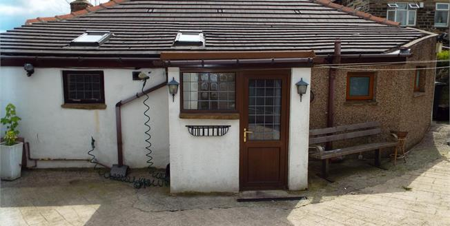 Offers in excess of £110,000, 2 Bedroom Detached Bungalow For Sale in Halifax, HX1