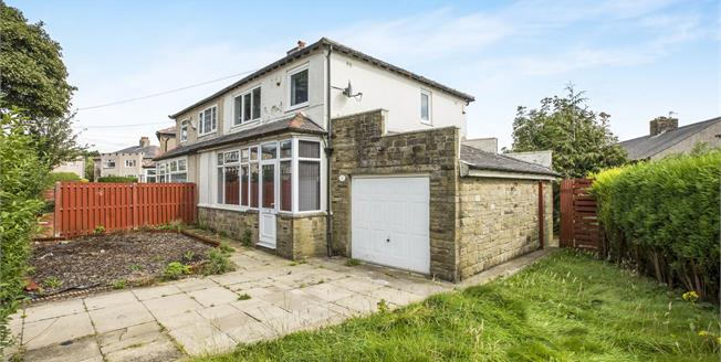Offers Over £150,000, 3 Bedroom Semi Detached House For Sale in Halifax, HX2