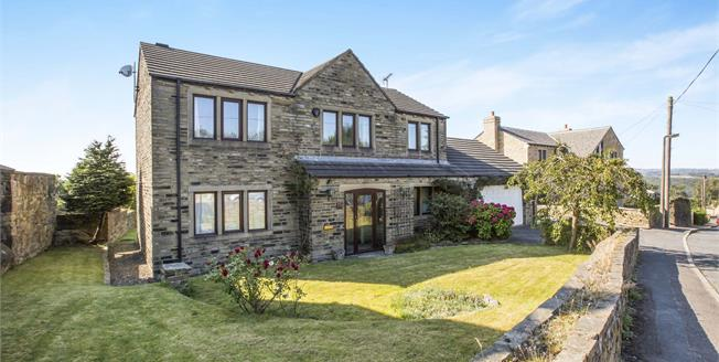 Asking Price £400,000, 4 Bedroom Detached House For Sale in Elland, HX5