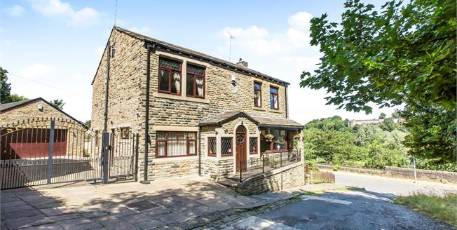Offers in the region of £425,000, 5 Bedroom Detached House For Sale in Brighouse, HD6