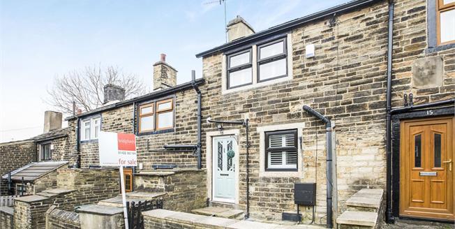 Offers Over £80,000, 1 Bedroom Terraced Cottage For Sale in Bradford, BD7