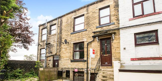 Offers Over £80,000, 2 Bedroom Terraced House For Sale in Queensbury, BD13