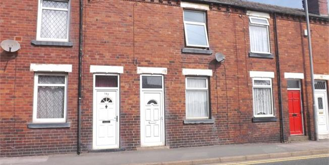Offers in the region of £68,000, 2 Bedroom Terraced House For Sale in Sharlston Common, WF4