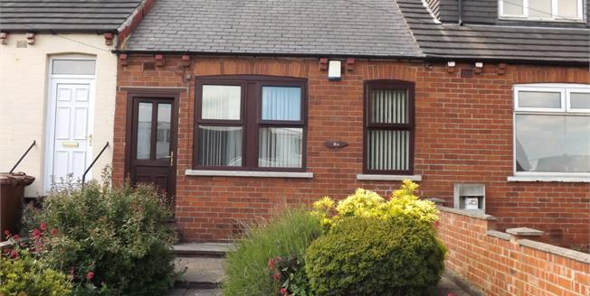 Asking Price £65,000, 1 Bedroom Terraced Bungalow For Sale in Ryhill, WF4
