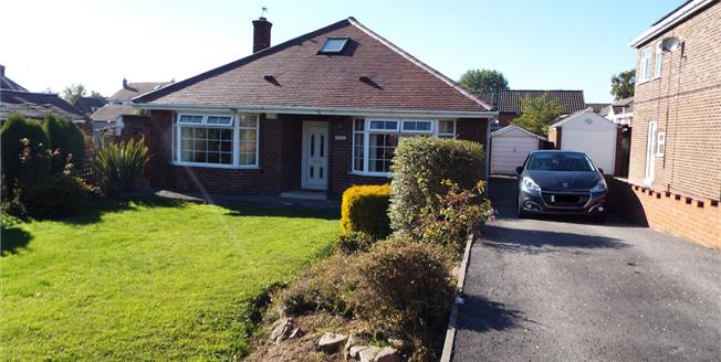 Offers in excess of £170,000, 3 Bedroom Detached Bungalow For Sale in Upton, WF9