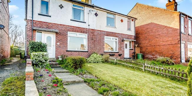 Guide Price £120,000, 3 Bedroom Semi Detached House For Sale in Crigglestone, WF4