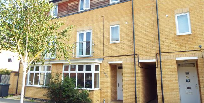 Offers in excess of £229,995, 4 Bedroom Town House For Sale in Hampton Vale, PE7