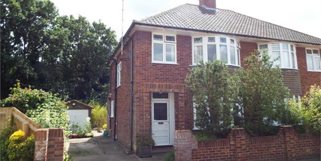 £280,000, 3 Bedroom Semi Detached House For Sale in Ipswich, IP4