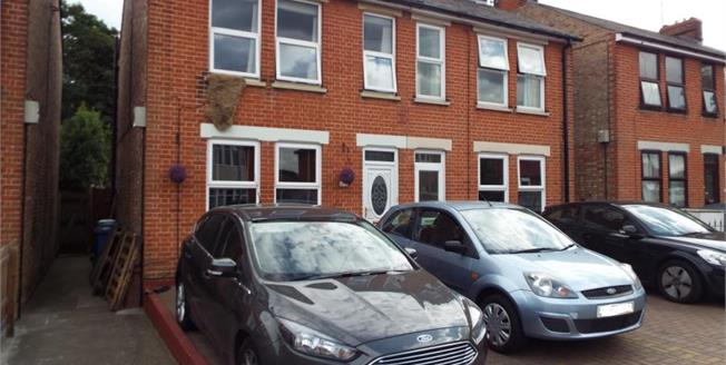 Offers in excess of £200,000, 3 Bedroom Semi Detached House For Sale in Ipswich, IP2