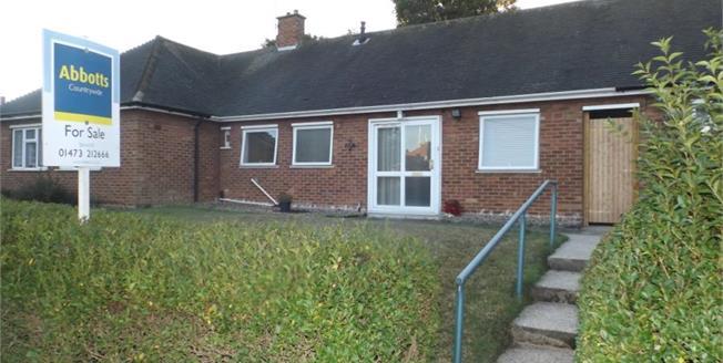 £160,000, 2 Bedroom Semi Detached Bungalow For Sale in Ipswich, IP2