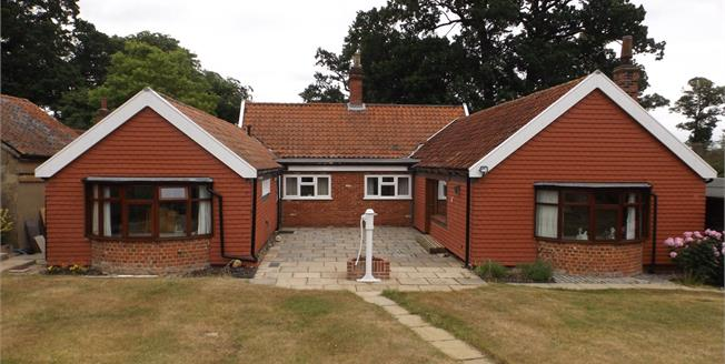 Guide Price £525,000, 3 Bedroom Detached Bungalow For Sale in Sproughton, IP8