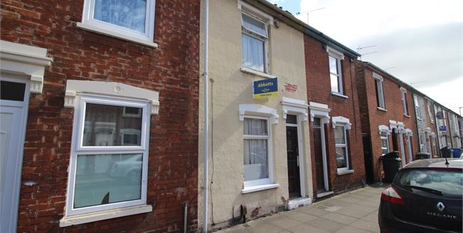Asking Price £130,000, 2 Bedroom Terraced House For Sale in Ipswich, IP1