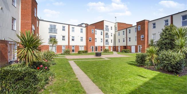 Asking Price £140,000, 2 Bedroom Flat For Sale in Ipswich, IP2