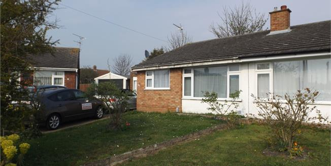 Offers in excess of £180,000, 2 Bedroom Semi Detached Bungalow For Sale in Ipswich, IP1