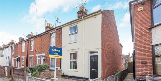 Offers in excess of £165,000, 3 Bedroom End of Terrace House For Sale in Ipswich, IP1