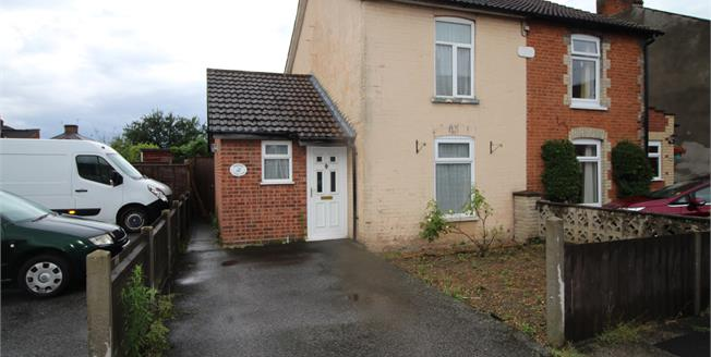 Offers in excess of £160,000, 2 Bedroom Semi Detached House For Sale in Ipswich, IP3