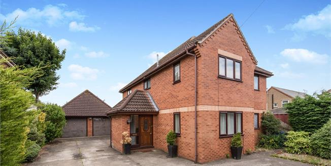 Asking Price £375,000, 4 Bedroom Detached House For Sale in Ipswich, IP1