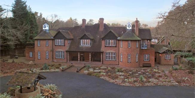 Price on Application, 8 Bedroom Detached House For Sale in Crowthorne, RG45