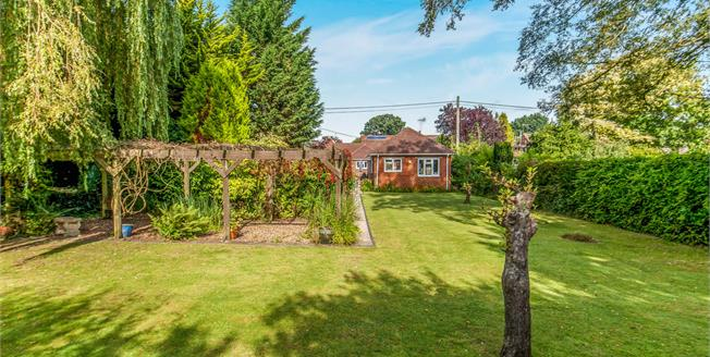 Offers in excess of £575,000, 2 Bedroom Detached Bungalow For Sale in Blackwater, GU17