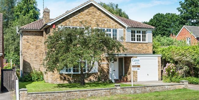 Offers in excess of £650,000, 5 Bedroom Detached House For Sale in Sandhurst, GU47