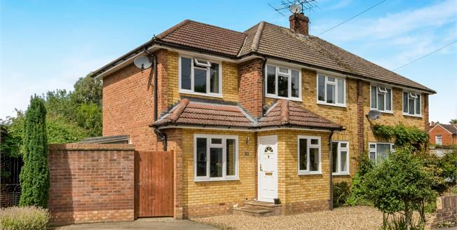 Offers in excess of £425,000, 4 Bedroom Semi Detached House For Sale in Crowthorne, RG45
