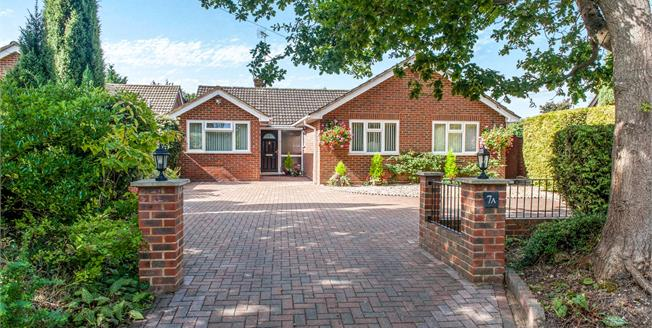 Offers in excess of £575,000, 3 Bedroom Detached Bungalow For Sale in Yateley, GU46