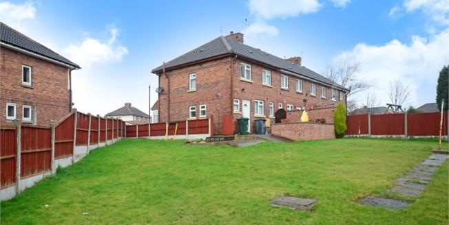 Guide Price £75,000, 2 Bedroom End of Terrace For Sale in Rotherham, S65