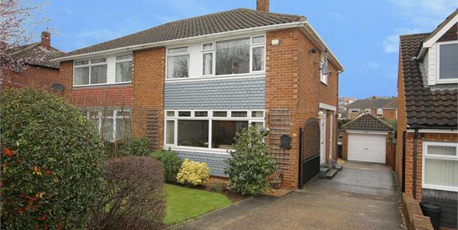 Guide Price £170,000, 3 Bedroom Semi Detached House For Sale in Rotherham, S60