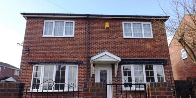 £115,000, 4 Bedroom Detached House For Sale in Kilnhurst, S64