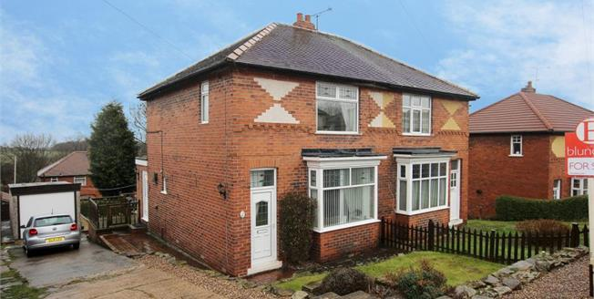 Guide Price £140,000, 3 Bedroom Semi Detached House For Sale in Rotherham, S65