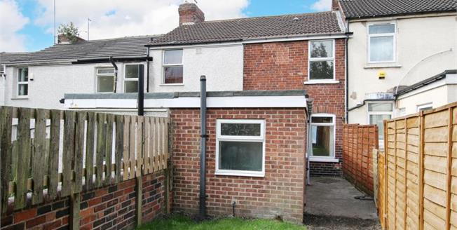 Guide Price £55,000, 2 Bedroom House For Sale in Rotherham, S61