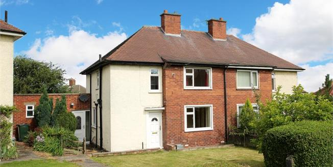 Guide Price £120,000, 3 Bedroom Semi Detached House For Sale in Scholes, S61
