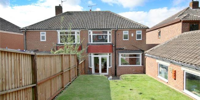 Guide Price £165,000, 3 Bedroom Semi Detached House For Sale in Rotherham, S60