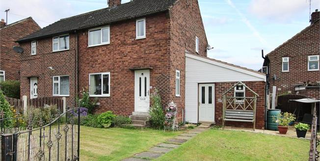 Guide Price £125,000, 2 Bedroom Semi Detached House For Sale in Brinsworth, S60