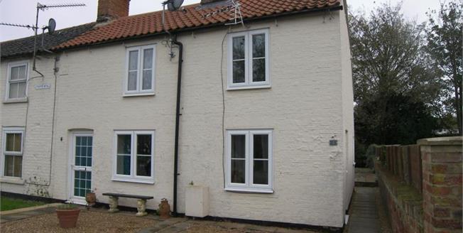 £200,000, 3 Bedroom End of Terrace Cottage For Sale in Tilney St. Lawrence, PE34