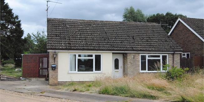 Offers in excess of £190,000, 3 Bedroom Detached Bungalow For Sale in Middleton, PE32