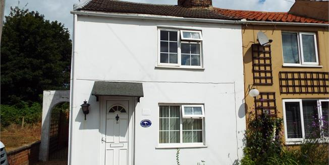 Asking Price £135,000, 2 Bedroom End of Terrace House For Sale in Terrington St. Clement, PE34