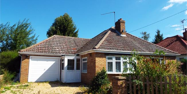 Asking Price £200,000, 3 Bedroom Detached Bungalow For Sale in King's Lynn, PE33