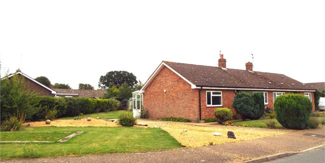 Asking Price £165,000, 2 Bedroom Semi Detached Bungalow For Sale in Grimston, PE32
