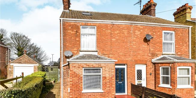 Offers Over £200,000, 3 Bedroom Semi Detached House For Sale in Terrington St. Clement, PE34