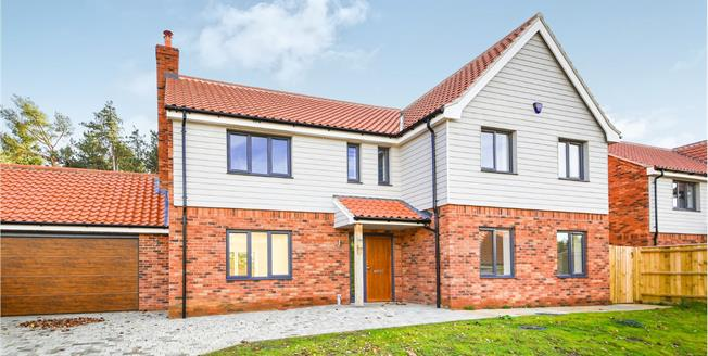 Asking Price £525,000, 5 Bedroom Detached House For Sale in Blackborough End, PE32