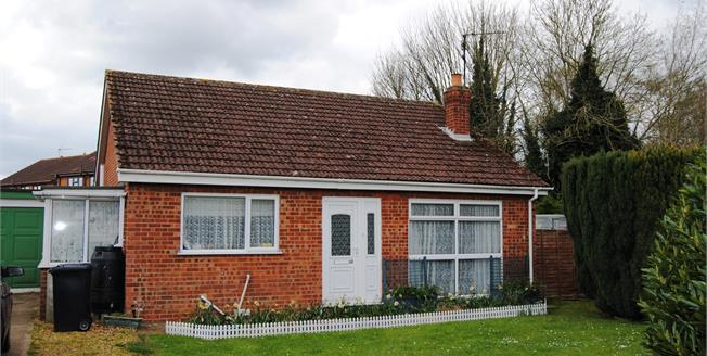 Asking Price £225,000, 2 Bedroom Detached Bungalow For Sale in Terrington St. Clement, PE34