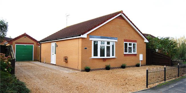 Offers Over £225,000, 2 Bedroom Detached Bungalow For Sale in Long Sutton, PE12