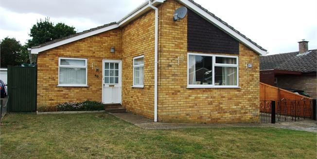Offers in excess of £230,000, 3 Bedroom Detached Bungalow For Sale in Lakenheath, IP27